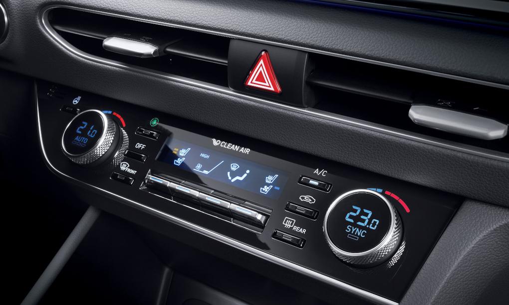 Hệ thống điều hòa Hyundai